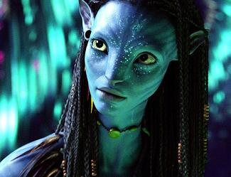 Avatar - Photo of a female avatar on the planet of Pandora