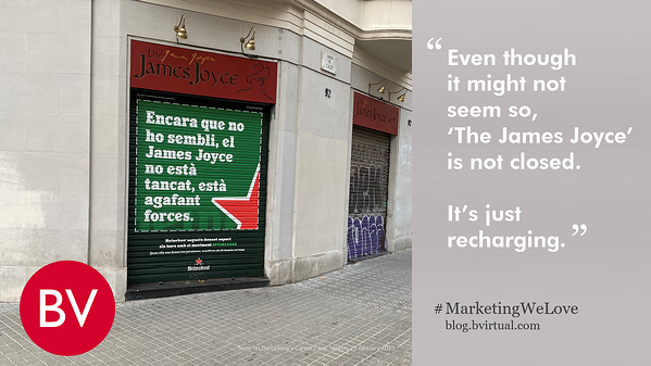 Personalisation that impacts people is always relevant, timely and sincere · #MarketingWeLove · Barcelona Virtual