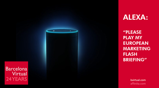 Alexa European Marketing Flash Briefing Directory
