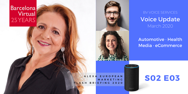 Alexa European Marketing Flash Briefing | S02 E03 Voice Update