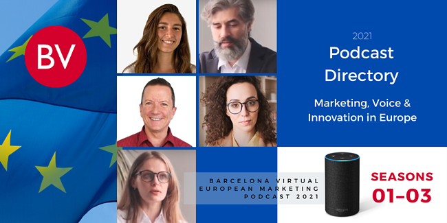 Barcelona Virtual European Marketing Podcast Directory 2021
