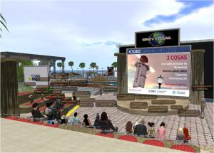 Paul Fleming presented new data on consumer behaviour in 3D Virtual Worlds