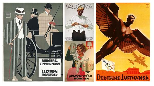 Ludwig Hohlwein was a major figure in Twentieth-Century German advertising.