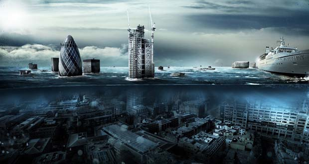 Barcelona, 2068 - Waterworld!