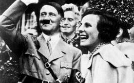 Hitler with Leni Riefenstahl